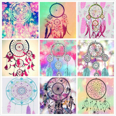 1set 5D Diamond Mosaic Embroidery Painting Indian dream catchers home decor US