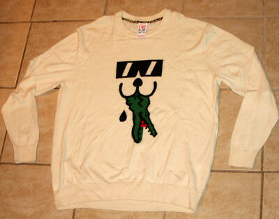 Lacoste Live x Cool Cats Soft Wool Pullover Sweater Size 7 / XL Capsule