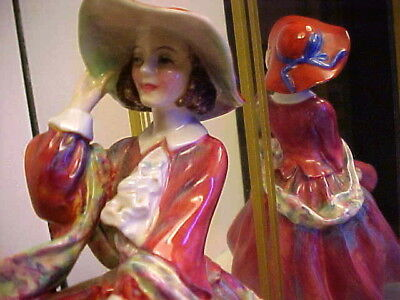 "Art Deco 1930's Royal Doulton ""Top O'The Hill"" Lady Figurine #822821, HN.1834"