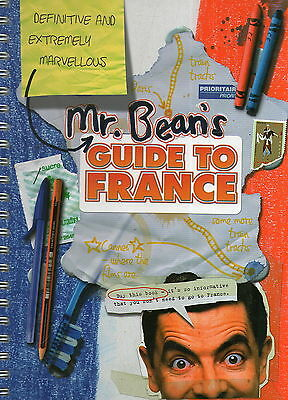 MR. BEAN * Mr Bean's Guide To France * Large Hardback Book *