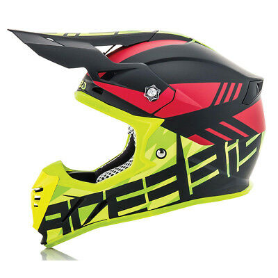 Casco Acerbis Profile 3.0 Blackmamba Black/Fluo Yellow  2018