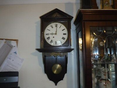 Fusee Bracket clock on stand