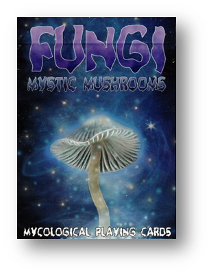 Limited Edition Fungi Mystic Mushrooms Mycological Playing Cards  Poker