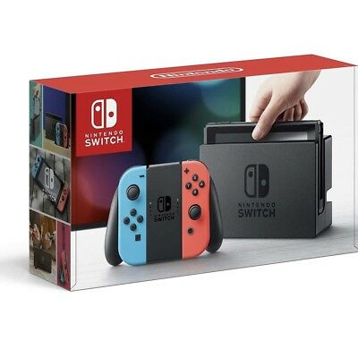 Nintendo Switch 32 GB Console with Neon Blue and Red Joy-Con
