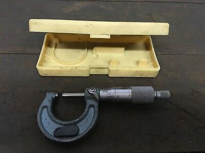 """Mitutoyo Imperial Outside Micrometer 0 - 1"""". 103-131"""
