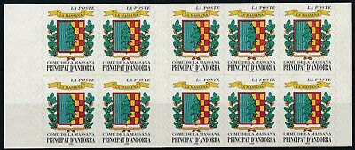 [H15166] Andorra 1998 PERMANENT VALUE Good complete ADHESIVE booklet very fine