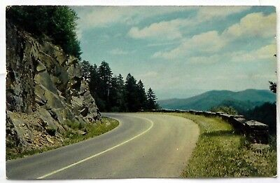 Clingmans Dome Highway, Great Smoky Mountains National Park Postcard C686