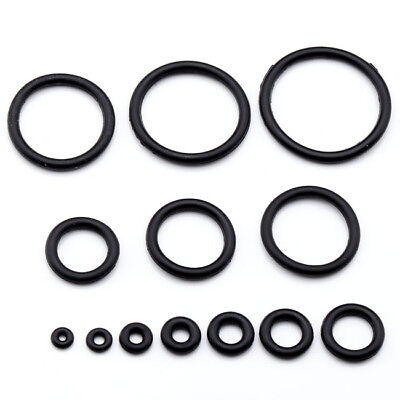 100pcs Body Piercing Replacement Rubber O-Rings Fit Taper Stretcher Expander Set