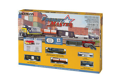 24022 Coffret Train départ Locomotive wagons 60 pieces Bachmann N 1/160