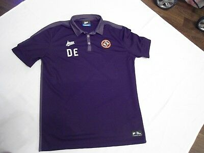Dundee United Players Issue Football Training Shirt Size Large