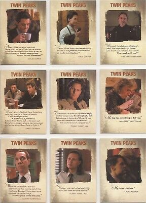 Twin Peaks - Q1 - Q14 Quotable Set of 14 Cards