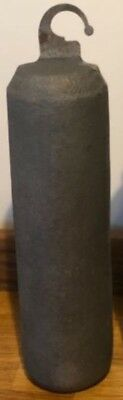 1 X LONGCASE GRANDFATHER CLOCK 12lb 5.5kg CAST IRON WEIGHT NEW REPRO MADE IN UK