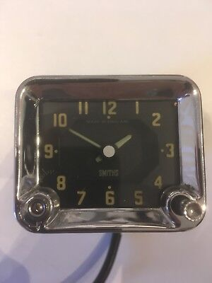 Smiths Car Clock. Working With Guarantee