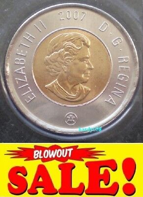 2007 2$ Toonie (Proof-Like) mint sealed - ONLY 2.79$ each!