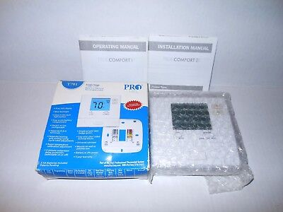 Pro 1 Thermostat Single Stage Heat Cool t701 pro1 iaq single stage non programmable thermostat $35 00