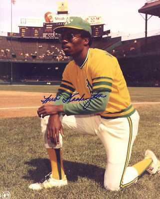 Herb Washington (1974 Oakland A's) signed 8x10 glossy photo INPERSON