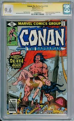 Conan The Barbarian #100 Cgc 9.6 Signature Series Signed Stan Lee Marvel Comics