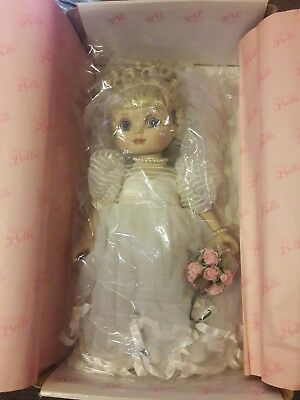 "Marie Osmond Adora Belle Bride 16"" doll SIGNED in Original Box"