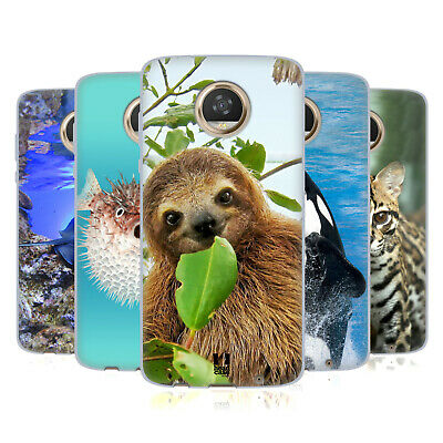 Head Case Designs Famous Animals Soft Gel Case For Motorola Phones