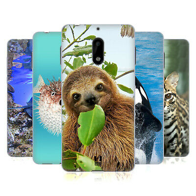 Head Case Designs Famous Animals Soft Gel Case For Nokia Phones 1