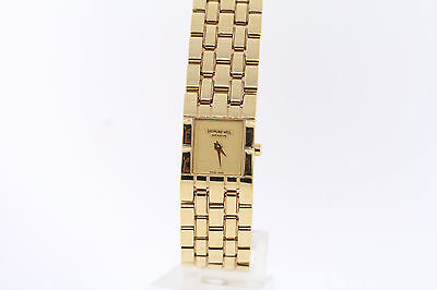 Ladies Raymond Weil 5886-P-100519 Tema Gold-tone Dial Stainless Steel Watch