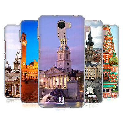 Head Case Designs Famous City Squares Soft Gel Case For Wileyfox Phones