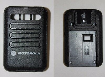 Motorola Minitor VI 6 Replacement Housing Front & Back - Black