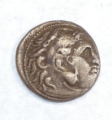 Ancient GREECE 336-323 BC Alexander the Great Silver Drachm VERY FINE 4 grams