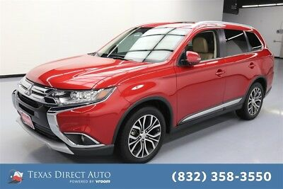2017 Mitsubishi Outlander SEL 4dr SUV Texas Direct Auto 2017 SEL 4dr SUV Used 2.4L I4 16V Automatic FWD SUV Moonroof
