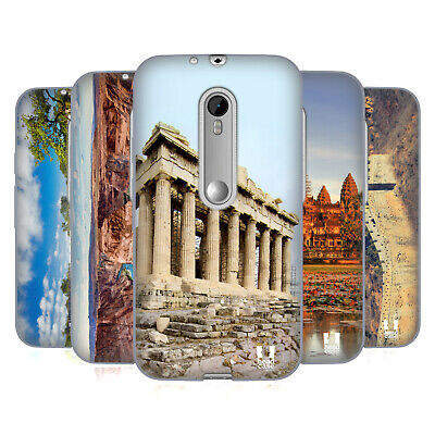Head Case Designs Famous Landmarks Soft Gel Case For Motorola Phones 2