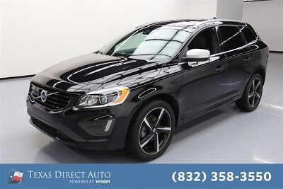 2016 Volvo XC60 T6 R-Design Platinum Texas Direct Auto 2016 T6 R-Design Platinum Used Turbo 3L I6 24V Automatic AWD
