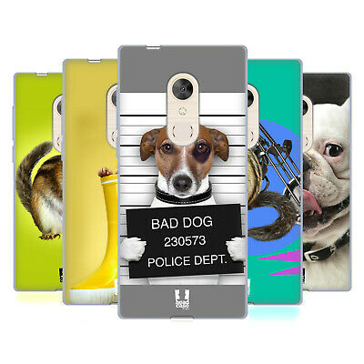 Head Case Designs Funny Animals Soft Gel Case For Alcatel Phones