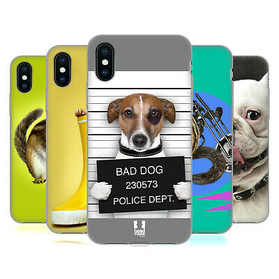 HEAD CASE DESIGNS FUNNY ANIMALS SOFT GEL CASE FOR APPLE iPHONE PHONES