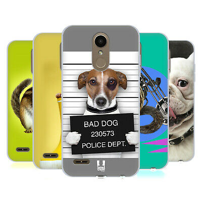 Head Case Designs Funny Animals Soft Gel Case For Lg Phones 1
