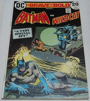 BRAVE AND THE BOLD #110 (DC Comics 1973) BATMAN & WILDCAT story (FN+) Aparo art