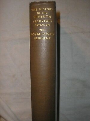 7th Bn Royal Sussex Regiment History British Army Western Front France PWRR