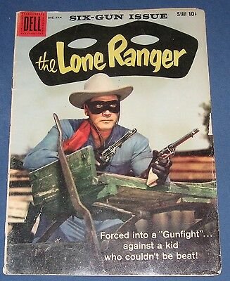 The Lone Ranger #125 Jan 1959 Dell Western Clayton Moore