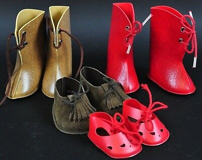 Stolle Puppen Schuhe / StiefelSt Doll Clothes Puppen Puppenkleidung bambola 11ED