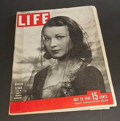 July 29, 1946 LIFE Magazine Paul Gauguin Old 40s Ads Ad + FREE SHIPPING Jul 7 30