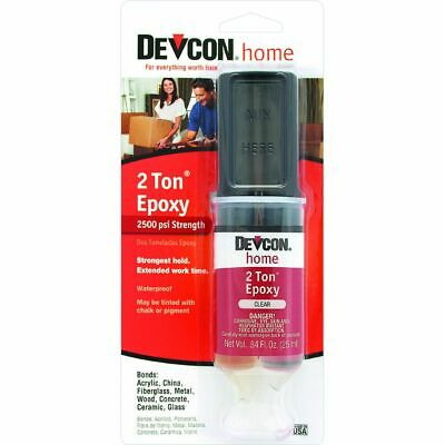 Medium-Cure High Strength Clear Epoxy Adhesive 0.84 Fluid Ounce Tube