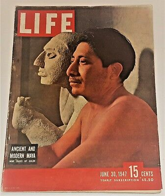 June 30, 1947 LIFE Magazine WWII Old 40s adds war II ad add ads, FREE SHIPPING 6