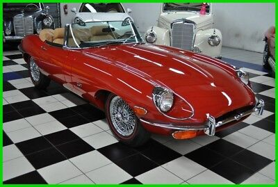 1971 Jaguar XKE E-TYPE PROBABLY THE NICEST XKE ON THE MARKET 1971 JAGUAR E-TYPE - FRAME OFF RESTORED - SERIES 2