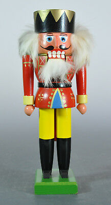 "1980s Erzgebirge East Germany 11"" Red Soldier Nutcracker (1 of 23)"