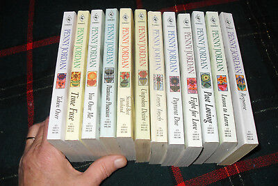 Nice lot of COLLECTOR'S EDITION by PENNY JORDAN   Free shipping in Canada