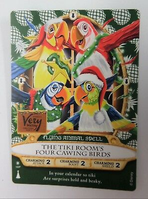 """disney"" Smk  Mickey's Very Merry Christmas Party 2018 Tiki Room's Chaser Card"