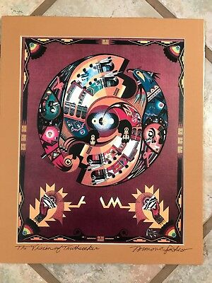 """Norman C Pacheco The Vision Of The  Truthseeker Print 12"""" X 10"""""""
