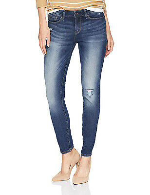 Signature By Levi Strauss & Co. Gold Label Skinny Distressed Stretch Jeans