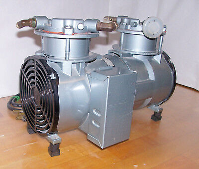 Gast RAA-V137-EB Two Stage Rocking Piston Vacuum Pump