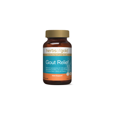 Herbs of Gold Gout Relief 60 Vegetable Capsules