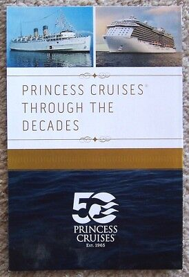 Booklet ~ Princess Cruise Line ~ 50Th Anniversary